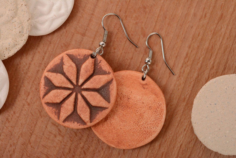 Clay earrings Female Alatyr photo 1