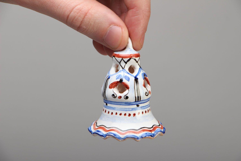 Unusual ceramic bell photo 4