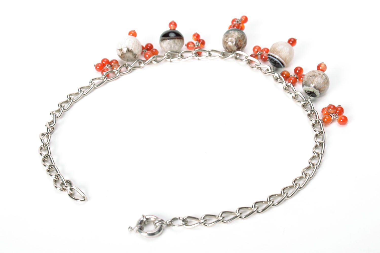 Beautiful gemstone necklace  photo 3