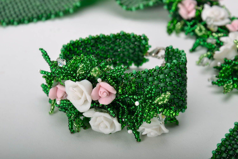 Bracelet made of Czech beads photo 1