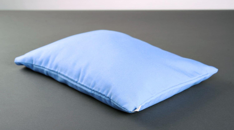 Blue yoga pillow photo 4