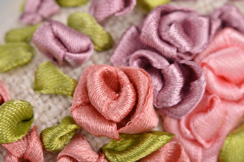 Handmade heart shaped scented fabric interior sachet pillow for home decor photo 4