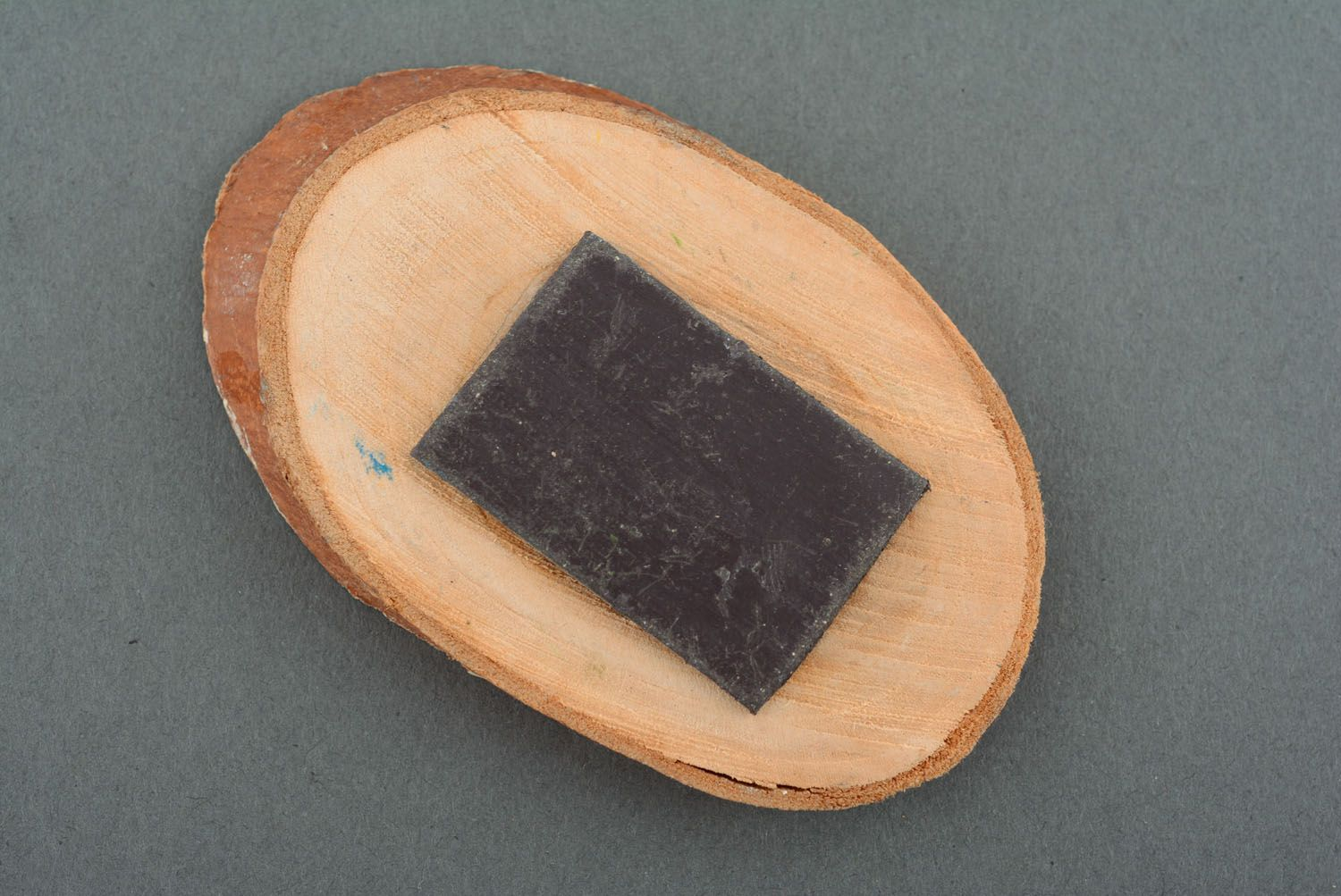 Wooden fridge magnet Firs photo 2