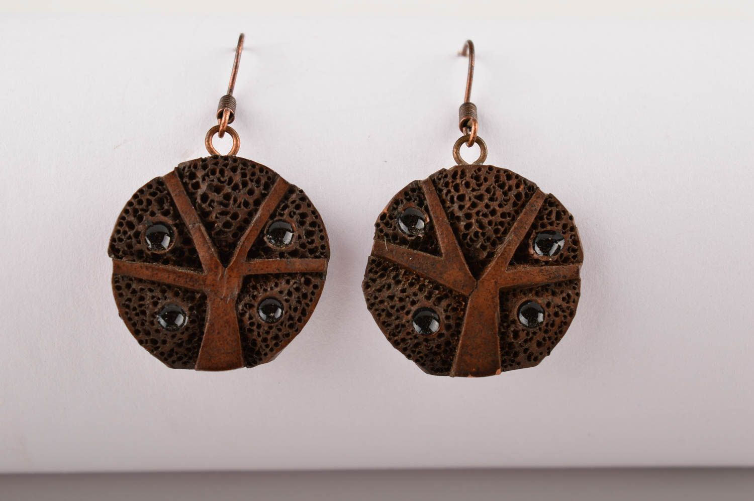 Ceramic jewelry handmade earrings gifts for women fashion accessories photo 2