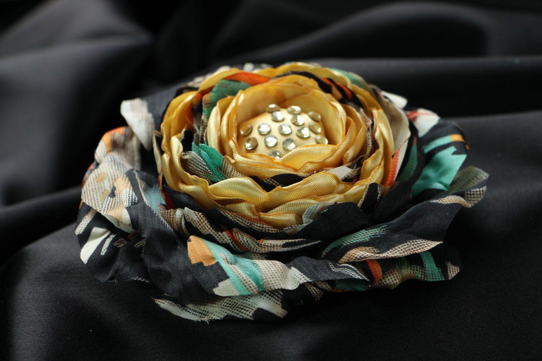 Silk brooch photo 2