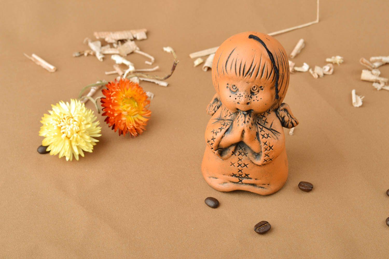 Ceramic bell kilned with milk Boy photo 5