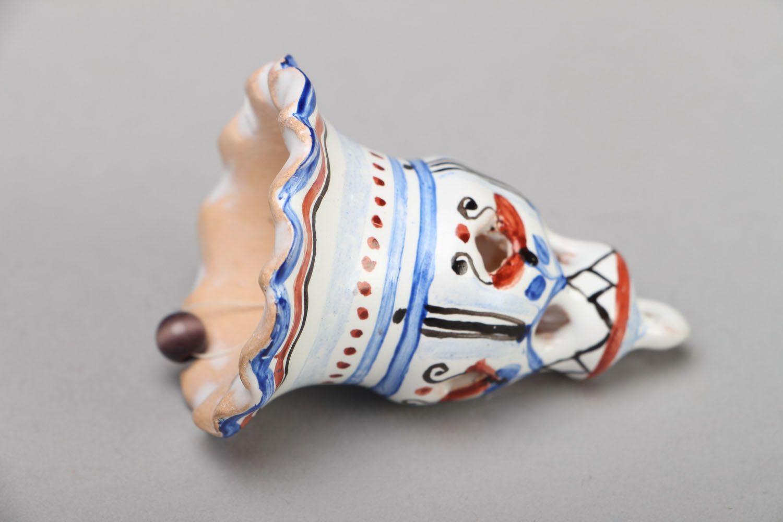 Unusual ceramic bell photo 3