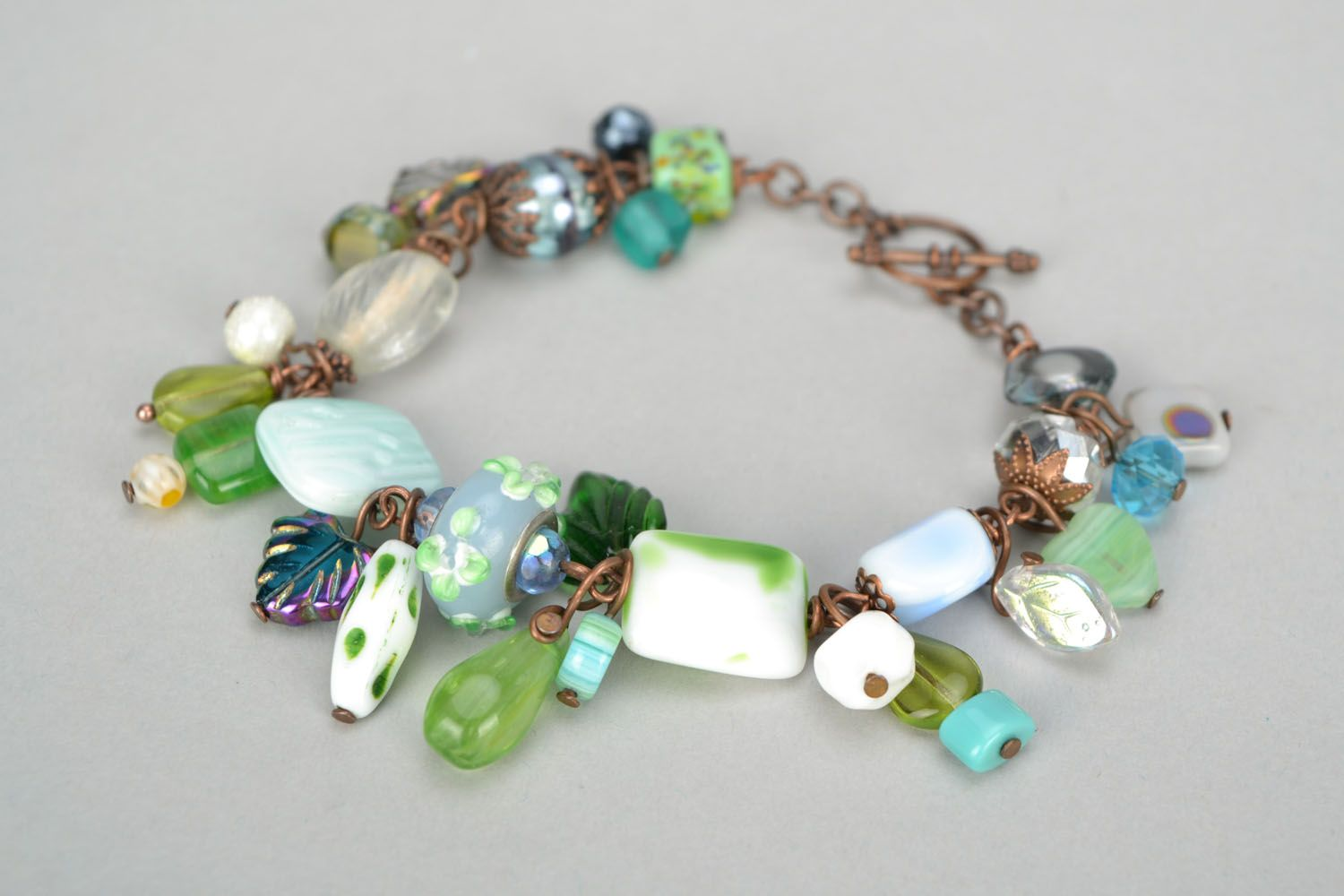 Bracelet with charms photo 1
