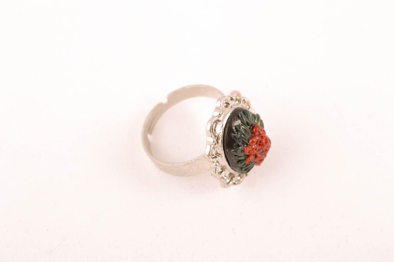 Handgemachter Ring aus Polymer Clay foto 1