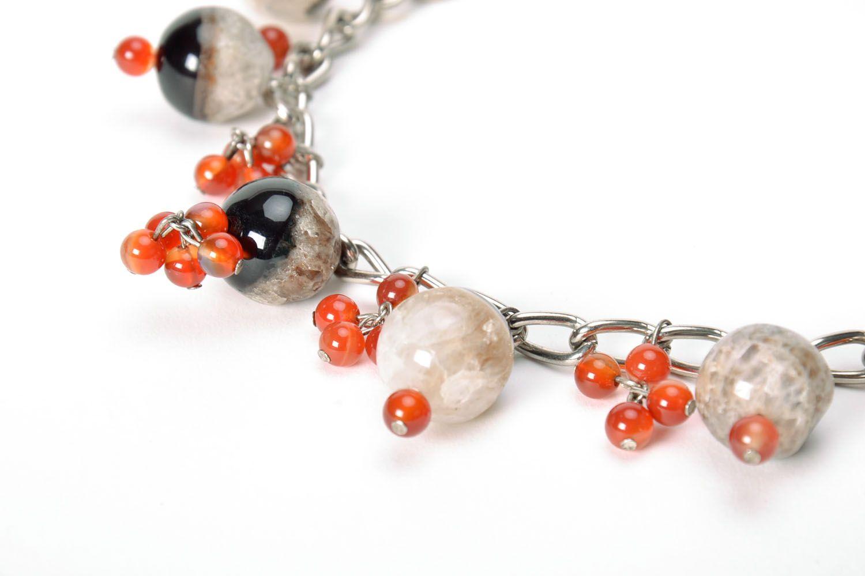 Beautiful gemstone necklace  photo 4