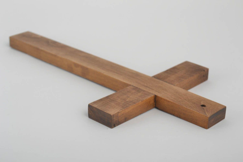 madeheart croix en bois fait main objet religieux design mural d co maison talisman. Black Bedroom Furniture Sets. Home Design Ideas