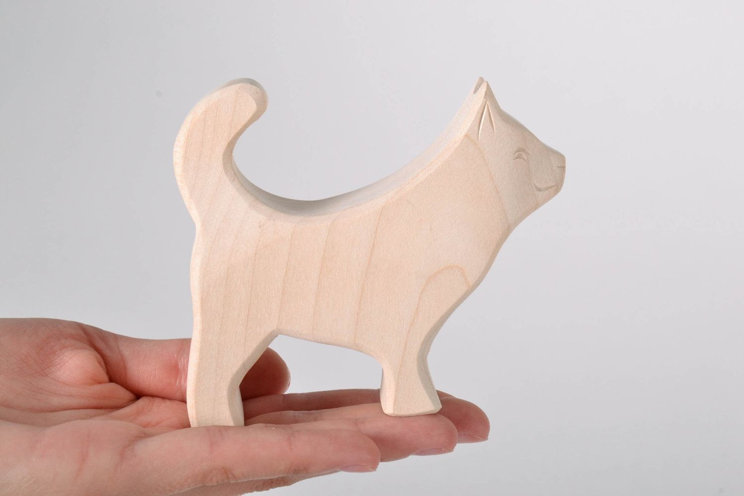Wooden toy Little Husky photo 5