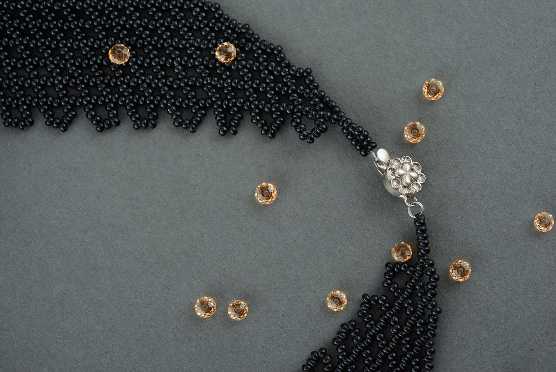 Beaded necklace Kerchief photo 3