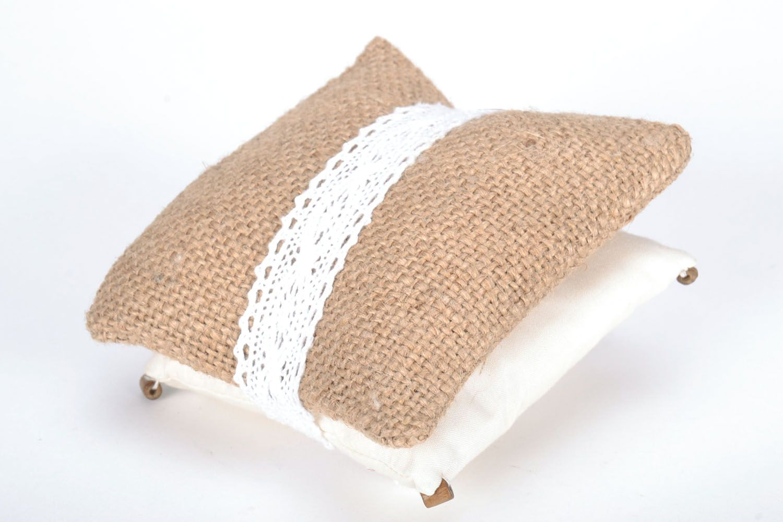Homemade sachet pillow photo 4