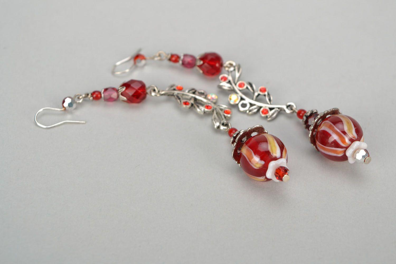 Handmade designer earrings photo 5