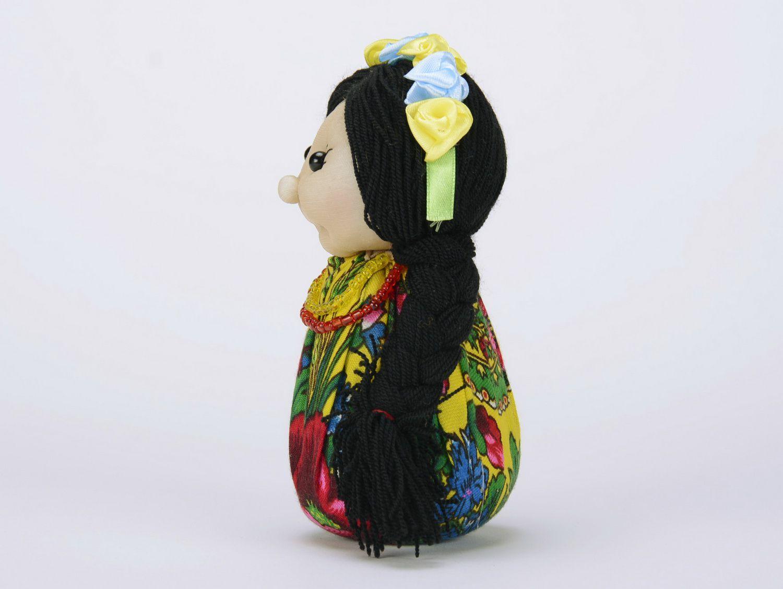 Soft sachet doll Ukrainian girl photo 4
