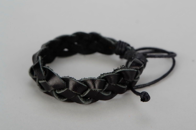 leather bracelets Braided leather bracelet - MADEheart.com