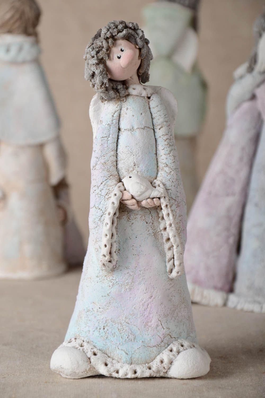 MADEHEART > Handmade Figuren aus Ton Figuren aus Keramik Haus Deko ...