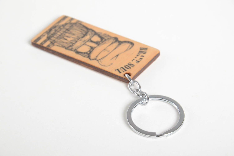 Breloques porte clés bois fait main accessoire design cadeau original porte clé fantaisie madeheart