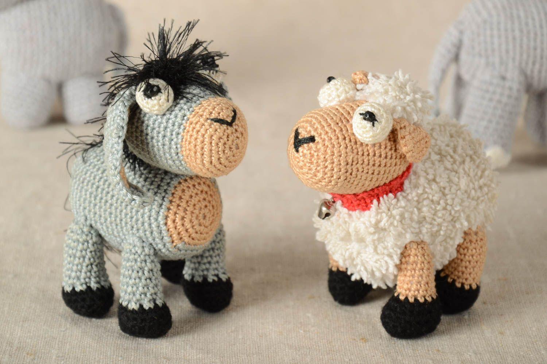 Вязание крючком игрушки животные