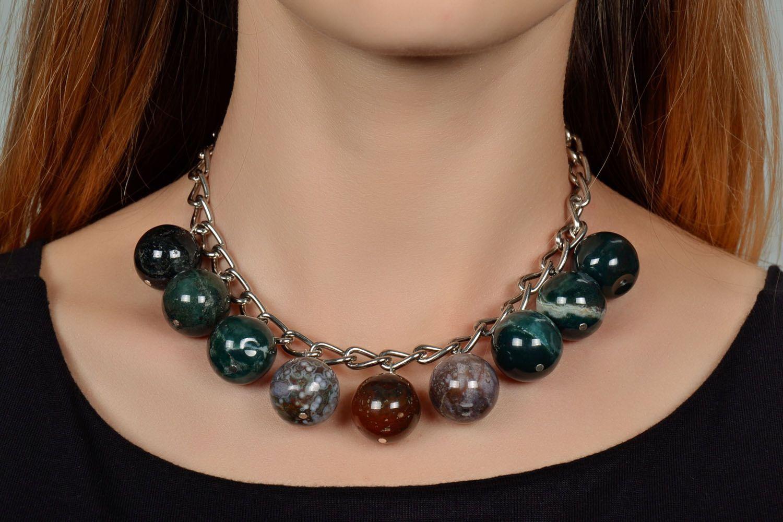 Jasper necklace  photo 1