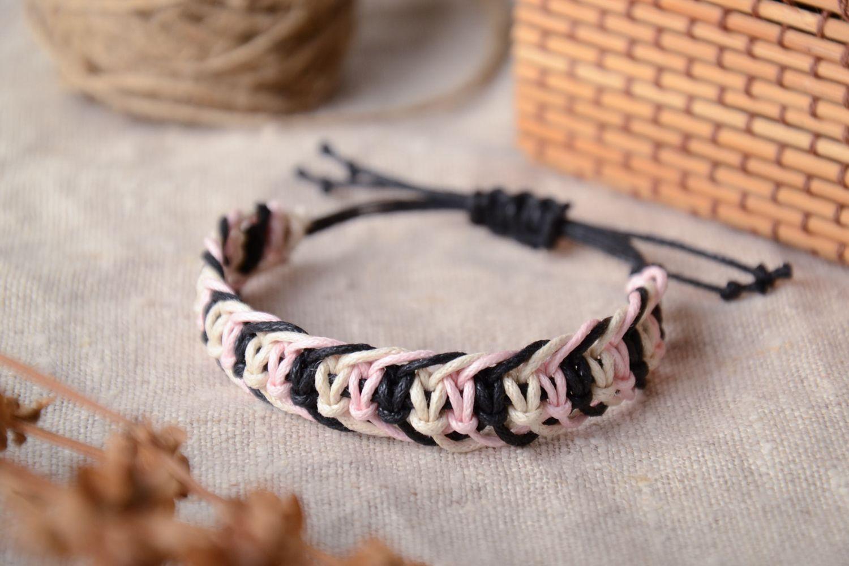 Как сделать плетеный браслет фото