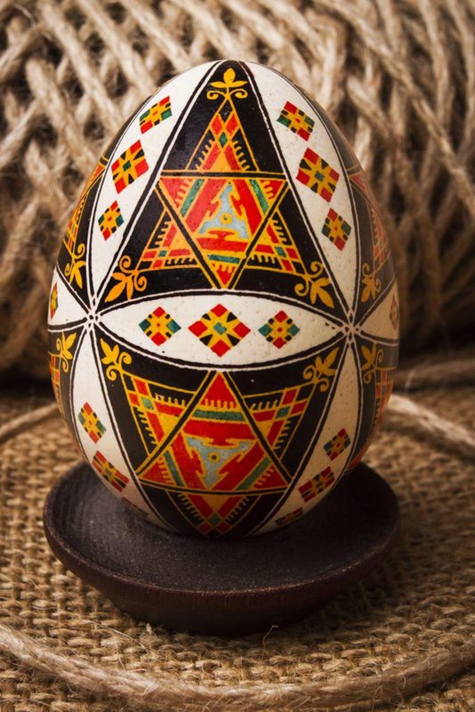 Handmade painted egg photo 1