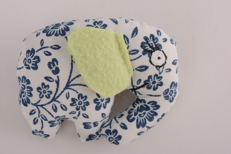 Textile toy Flowered Elephant photo 1