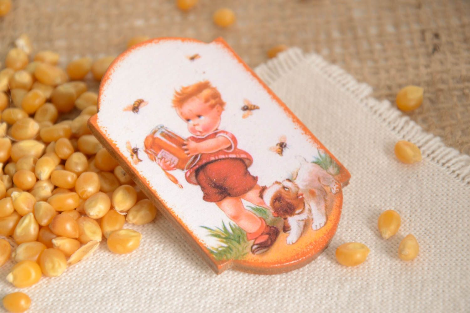 Unusual handmade magnet cool fridge magnets kitchen supplies decorative use only photo 1