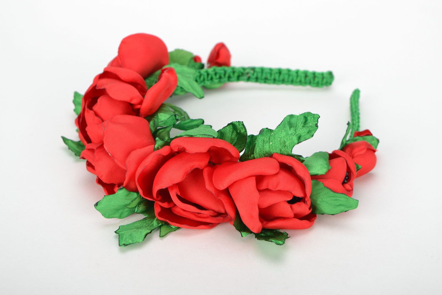 Hair band Scarlet Poppies photo 1