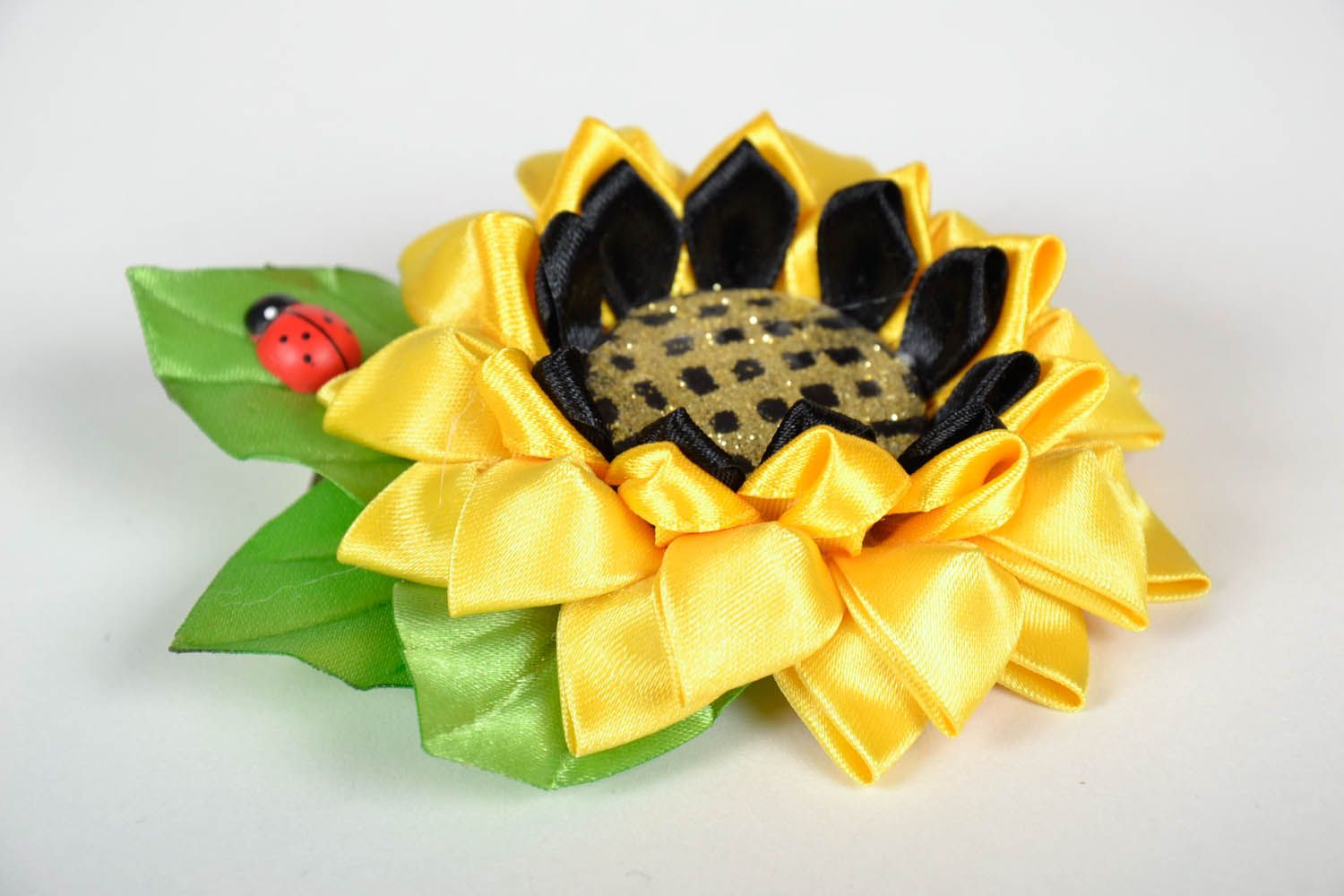 Hair clip Sunflower photo 2