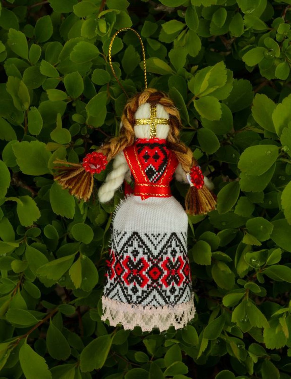 Motanka doll keychain photo 2
