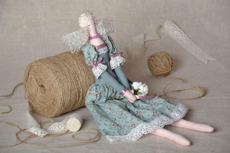 Textile interior doll Lavender Fairy photo 1