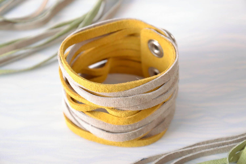 Bracelet made of genuine leather-1