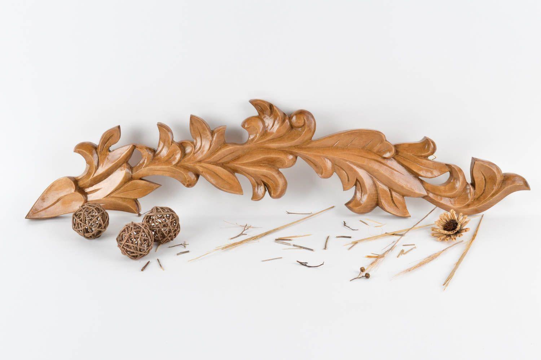 Madeheart panel decorativo artesanal tallado de madera for Adornos de madera para pared