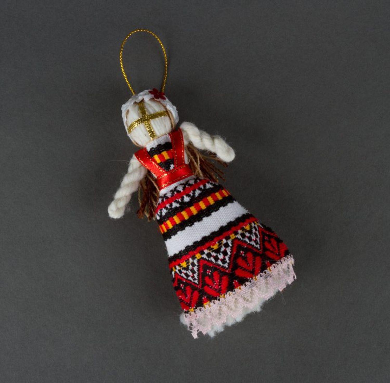 Motanka doll with an eyelet photo 3