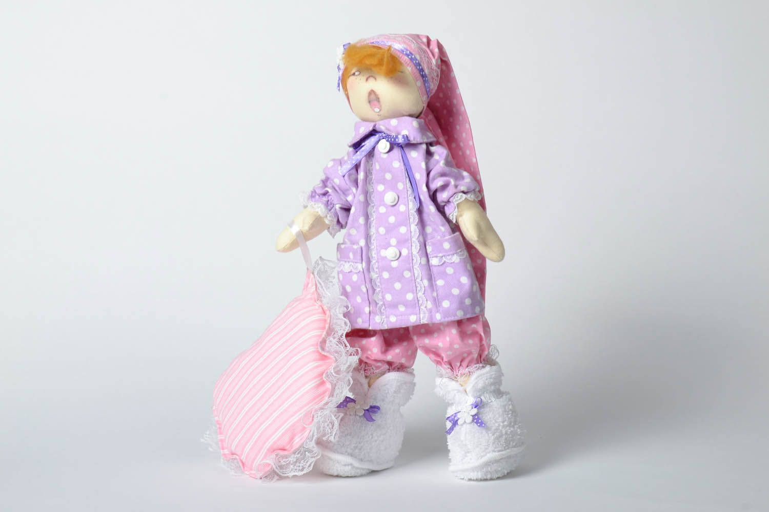 Decorative doll Sonya with a Pillow photo 2