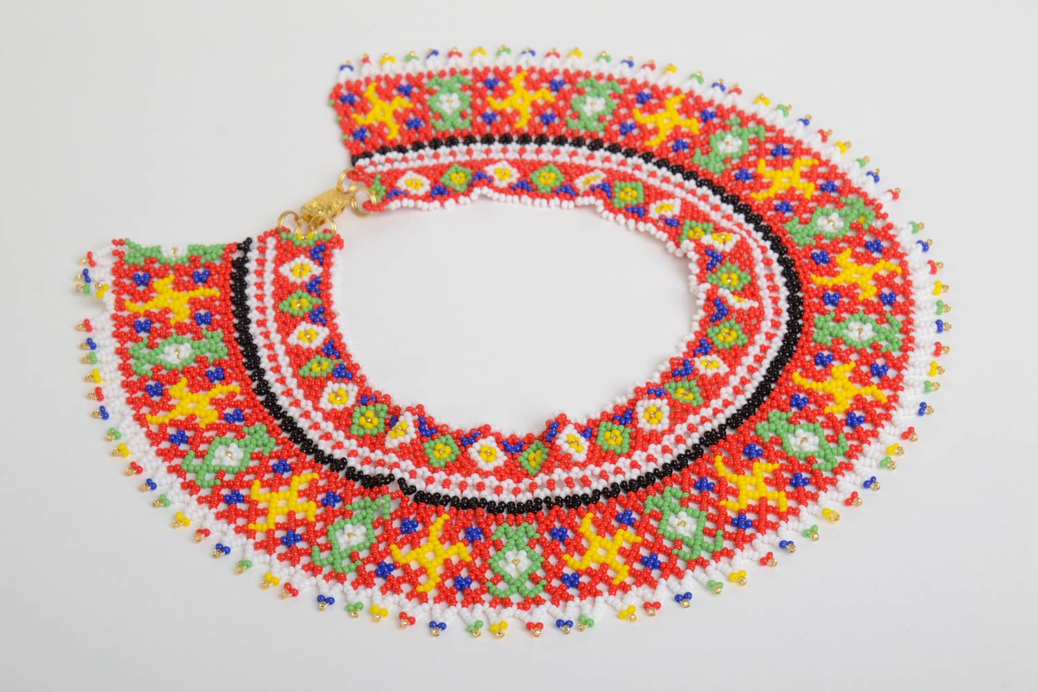 Beaded necklace handmade jewelry fashion necklaces for women designer jewelry photo 2