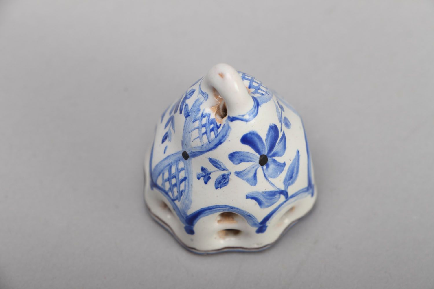 Small enameled bell photo 2