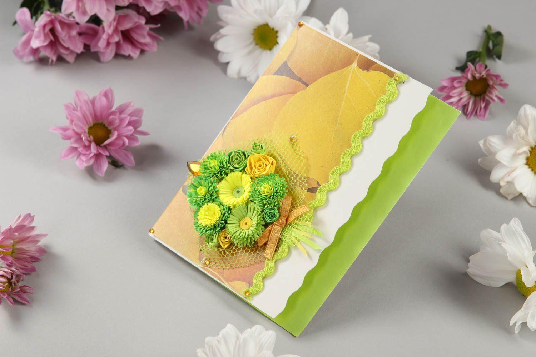 beautiful handmade greeting card scrapbook card design