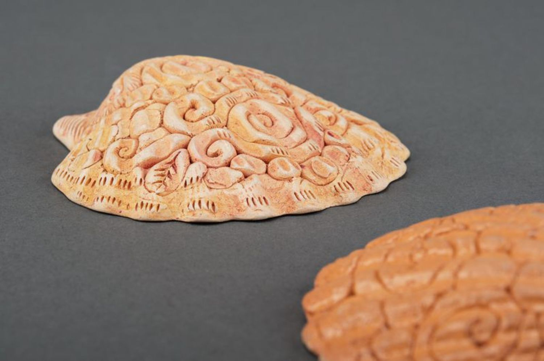 Ceramic pendant Shell photo 3