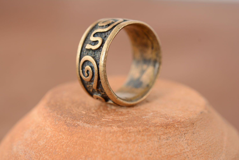 Bronze ring Fantasy photo 1