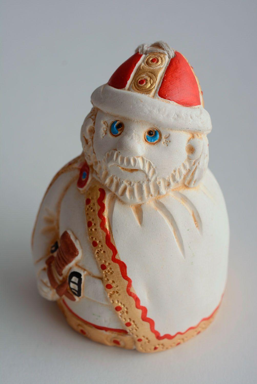 Homemade ceramic bell Warrior photo 1
