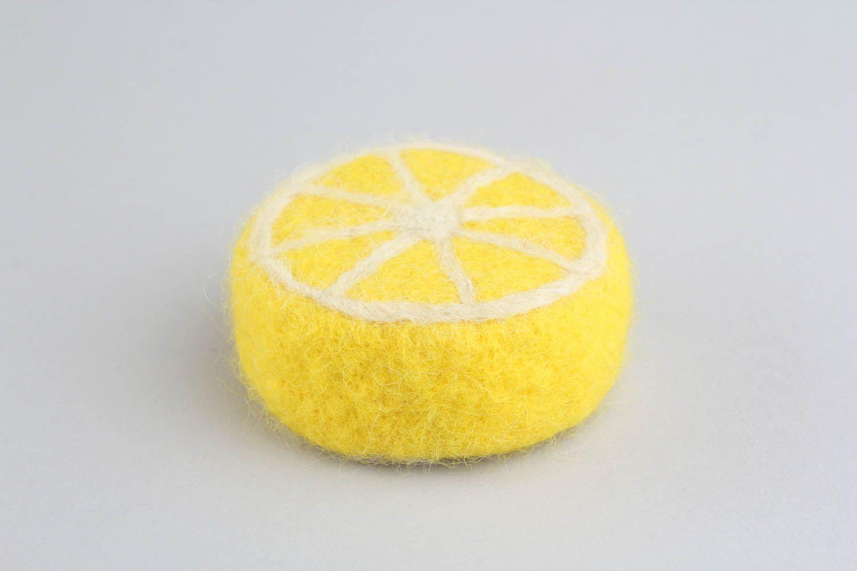 Loofah soap Lemon photo 5