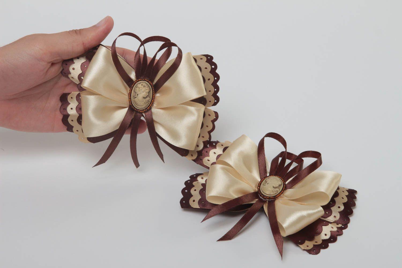 los accesorios infantiles Ganchos originales hechos a mano adornos para el pelo complementos para peinados ,