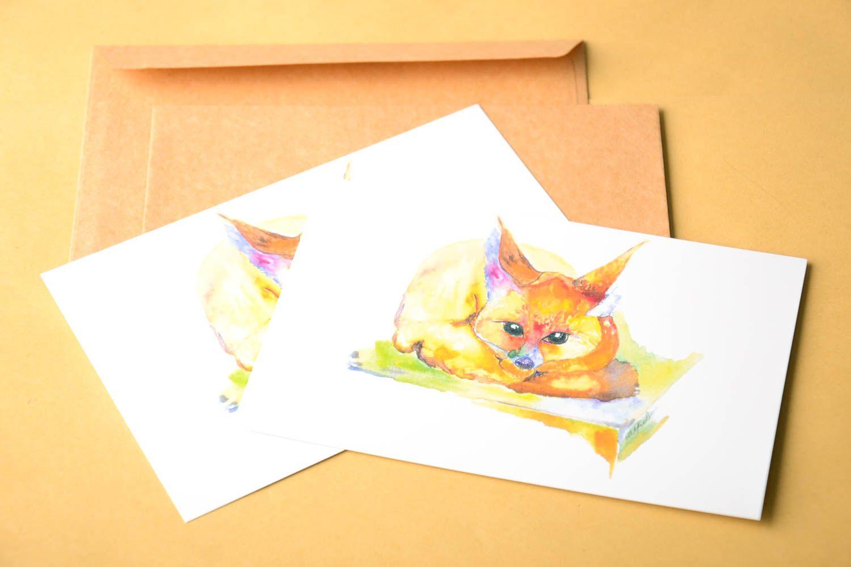 Handmade card unusual greeting card designer card for signature gift ideas photo 1
