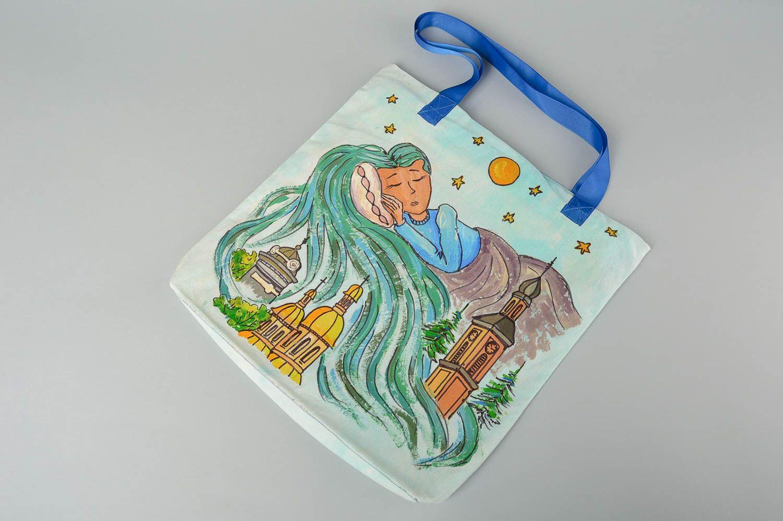 Designer bag handmade shoulder bag for women shoulder bag with painting photo 2