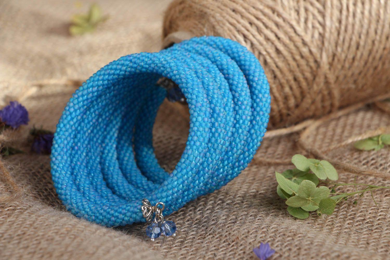 Multi-row beaded bracelet photo 4