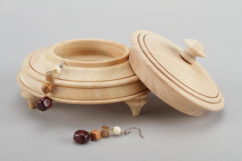 Деревянная круглая шкатулка своими руками 27