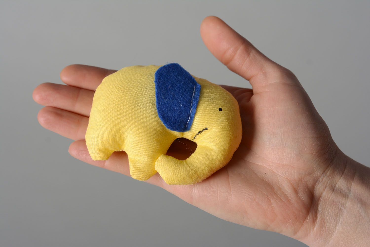 Textile toy Elephant Biscuit photo 4